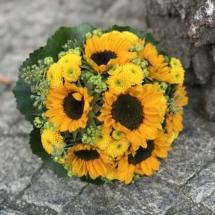 Sonnenblumen Brautstrauss